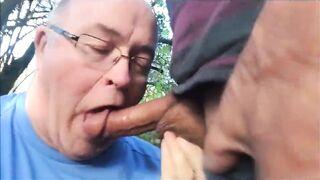 Autumn cock suck