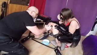 Training for a tied submissive slut
