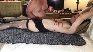 Sissy gets punished