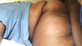 Thick chunky bottom boy getting filled with dick