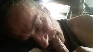 Sucking a nice cock in Austin