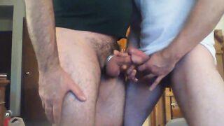 Two nice boners playing
