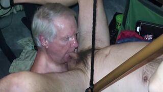 Grandpa blowjob session