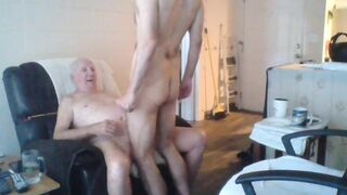 Never too old to suck the dick