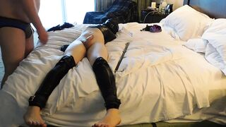 Nothing better than being bound and teased